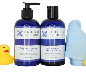 Baby Moisturizing Lotion and Baby Shampoo and Body Wash