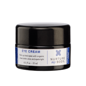 Fragrance Free All-Natural Eye Cream by Nurture My Body