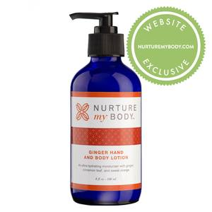Nurture My Body Ginger Body Lotion