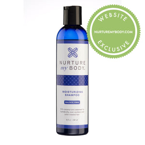 All Natural Sulfate Free Moisturizing Shampoo