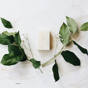Fragrance Free Pure and Simple Certified Organic Bar Soap by Nurture My Body