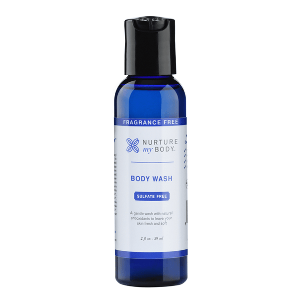 Travel Size Body Wash (Fragrance Free)