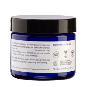 All Natural Ultra Light Day Cream by Nurture My Body