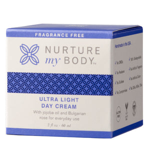 All Natural Fragrance Free Ultra Light Day Cream