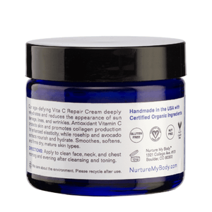 Fragrance Free Vita C Repair Cream Nurture My Body