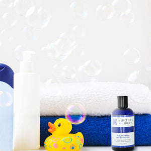 All Natural Baby Bathtime Essentials Baby Gift Set