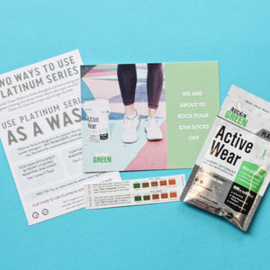 Rockin' Green Active Wear Sample Kit