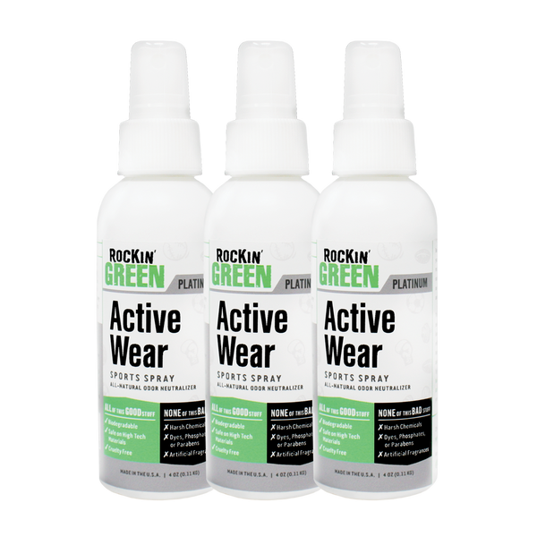 Active Wear Sports Spray - 3 Pack