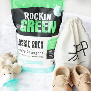 Rockin Green Classic Rock Laundry Detergent - AC/DSea Breeze