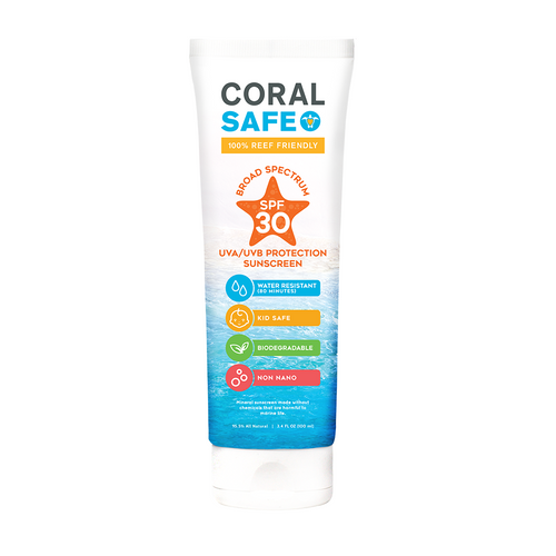 Coral Safe SPF 30 Travel Size Sunscreen Lotion