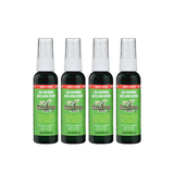 Skedattle® Anti-Bug Spray and Mosquito Repellent - Travel Size 4 Pack - Mexitan Biodegradable Sunscreen