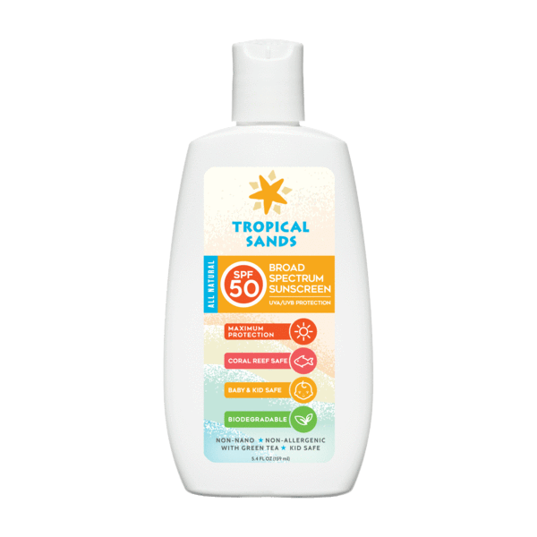 Tropical Sands® SPF 50 Unscented Mineral Sunscreen - Mexitan Biodegradable Sunscreen