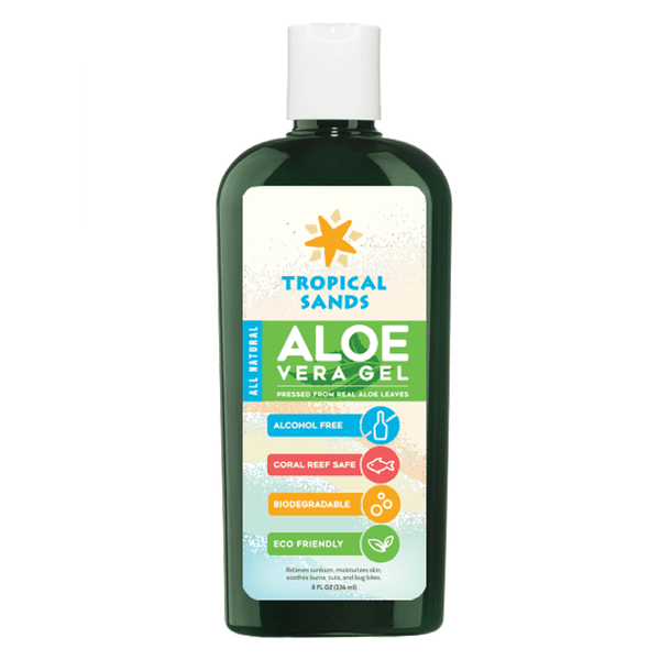 Tropical Sands® Pure Aloe Vera Gel - Mexitan Biodegradable Sunscreen