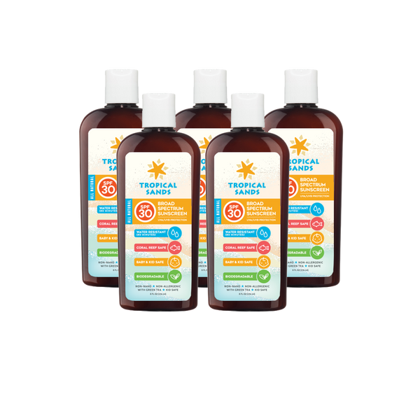 Tropical Sands Mineral Sunscreen Family Pack - Mexitan Biodegradable Sunscreen