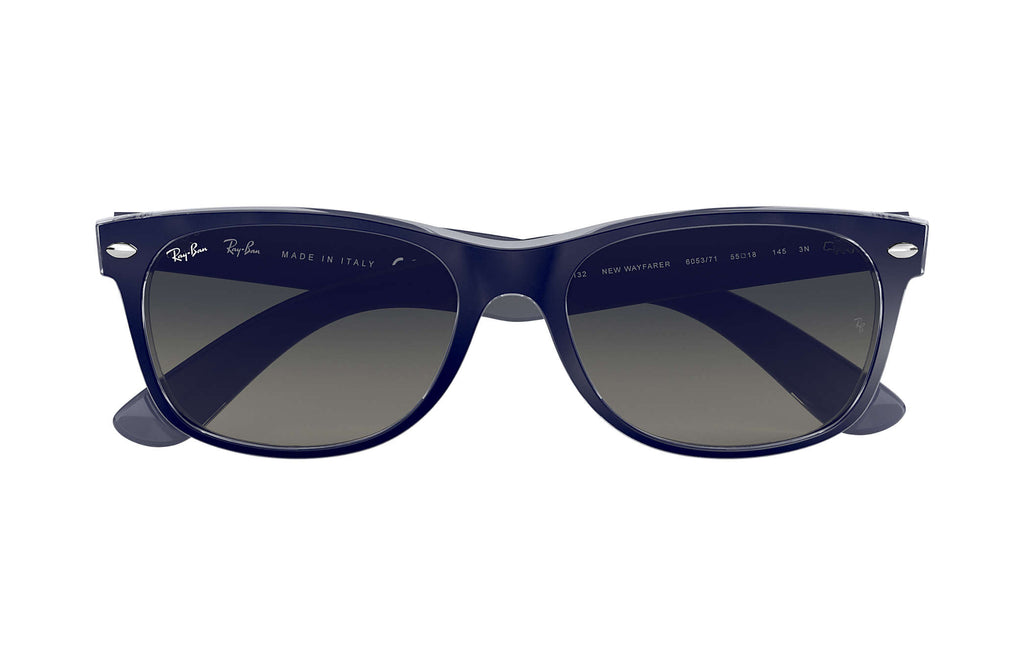RAY-BAN : New Wayfarer Color Mix, Bleu/Gris Dégradé