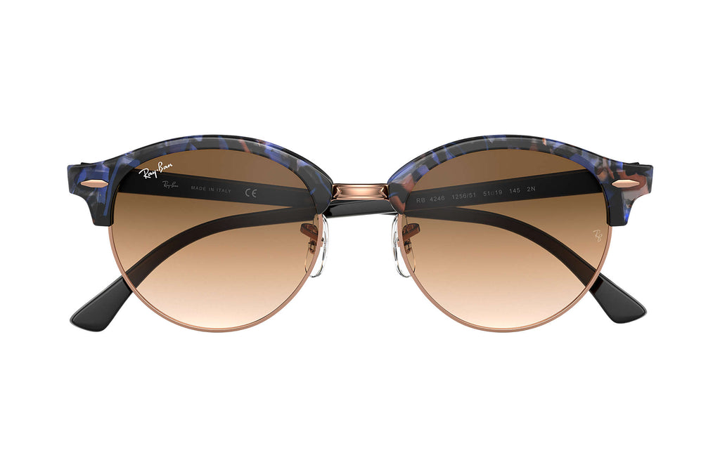 RAY-BAN : Clubround Fleck, RB4246 125651