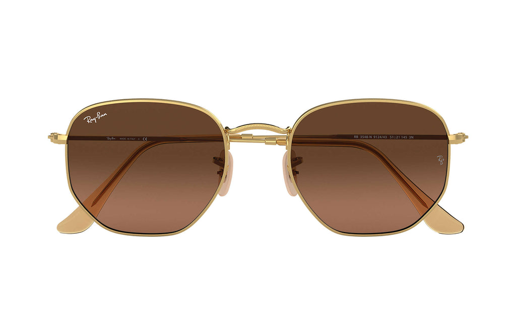 RAY-BAN : Hexagonal Flat Lenses, RB3548N 912443