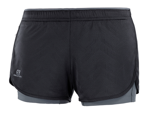 W Salomon Agile 2-in-1 Short