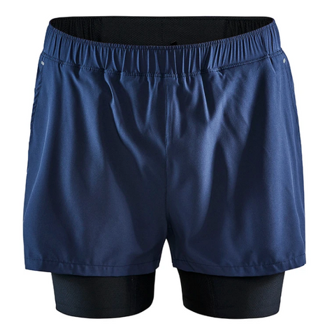 "M Craft ADV Essence 5"" 2-in-1 Stretch Shorts"