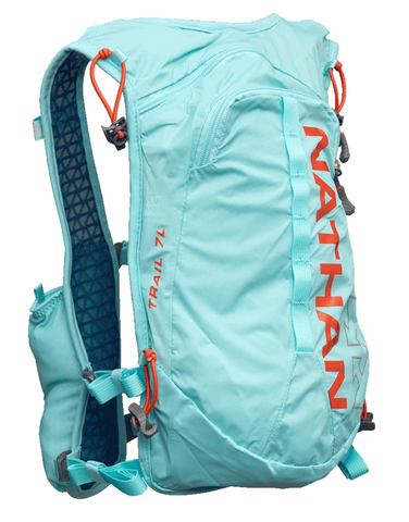 W Nathan Trail Mix 7L Vest, Angel Blue, OSFM