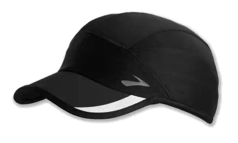 Brooks PR Lightweight Hat, Black