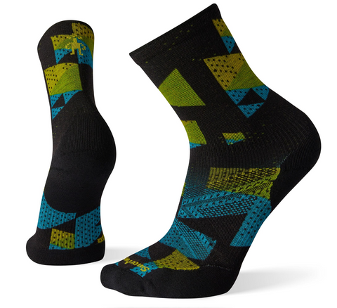Smartwool PhD Light Elite Print Crew Sock