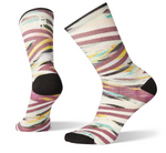 W Smartwool PhD Run Ultra Light Print Crew Sock