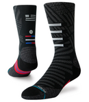 M Stance Run: 'Slanted' Crew Sock