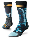 M Stance Run: 'The Kagan Moon Man' Crew Sock