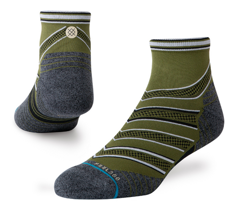 M Stance Run: 'Conflicted' Quarter Sock
