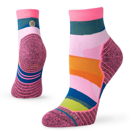 W Stance Run: 'Mix It Up' Quarter Sock
