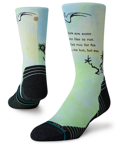 Stance Run: Dr. Seuss 'Some Who Like' Crew Sock