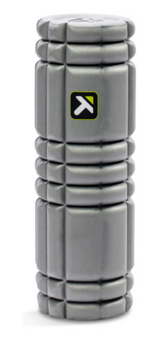 Trigger Point Solid Core Grey Roller - 18""