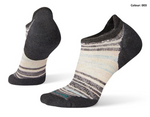 W Smartwool PhD Run Light Elite Striped Micro Sock