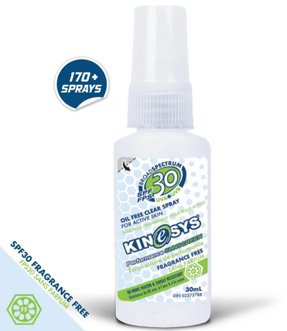 Kinesys SPF30 Sunscreen - 30 mL, Fragrance Free