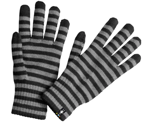 Smartwool Striped Liner Gloves