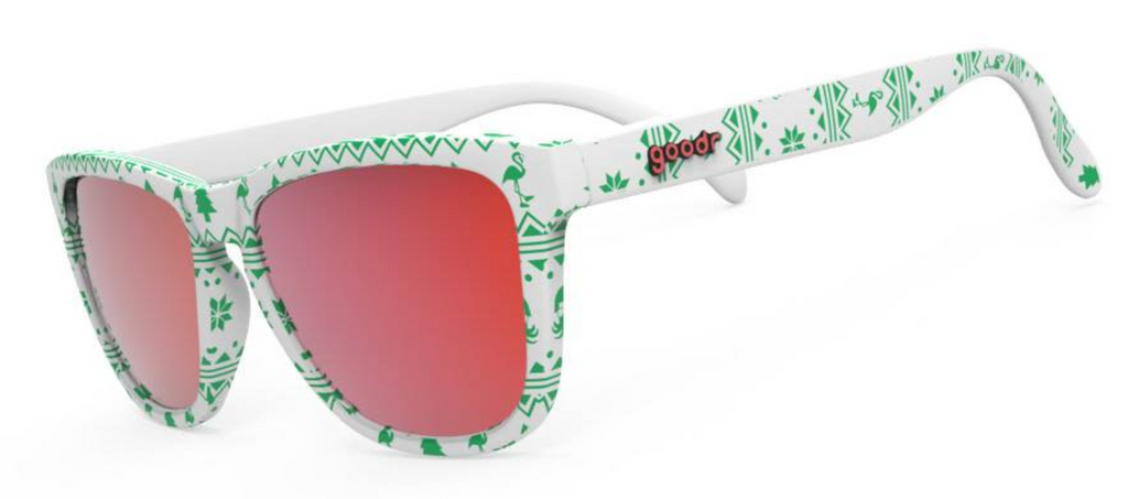 Goodr 'Merry Flocking Christmas' Sunglasses