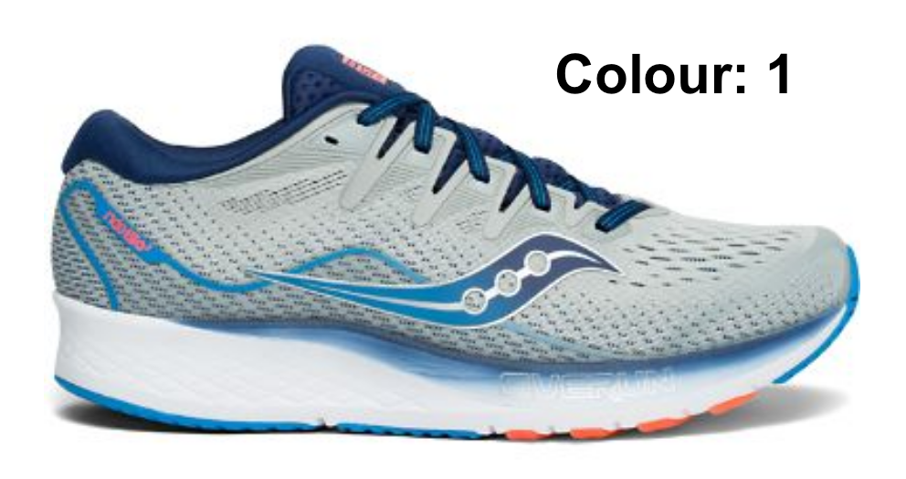 M Saucony Ride ISO 2, 2E – Frontrunners