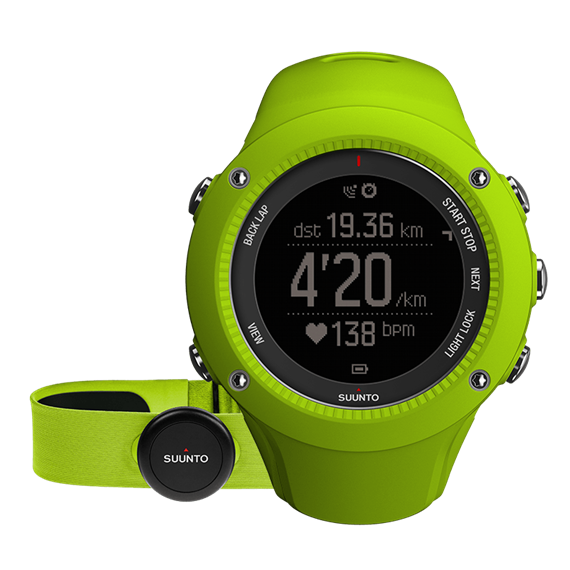 Suunto Ambit 3 Run Lime HR