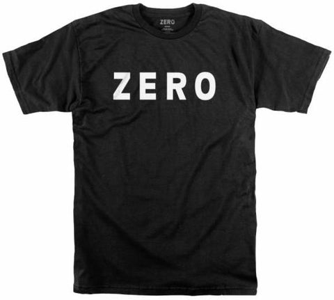 T-SHIRTS / ZERO / ARMY LOGO - BLACK