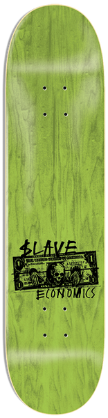 DECKS / SLAVE / ECONOSLAVE - RED VENEER - 8.75""