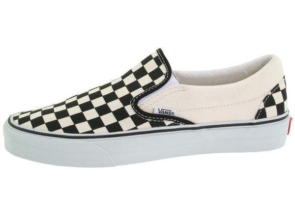 FOOTWEAR / VANS / CLASSIC SLIP-ON - BLACK/WHITE/CHECKERBOARD