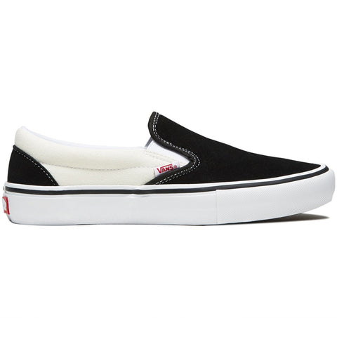 FOOTWEAR / VANS / SLIP-ON PRO - BLACK/WHITE/WHITE