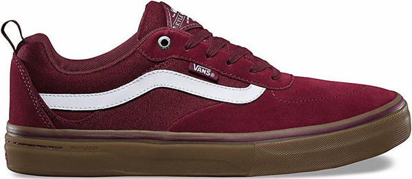 FOOTWEAR / VANS / KYLE WALKER PRO - BURGUNDY/WHITE/GUM