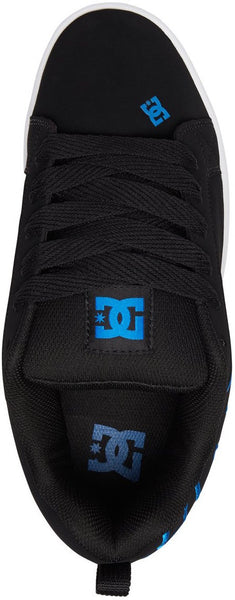 FOOTWEAR / DC / COURT GRAFFIK SE - BLACK/BLACK/BLUE