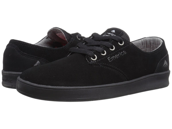 FOOTWEAR / EMERICA / THE ROMERO LACED- BLACK/BLACK/BLACK