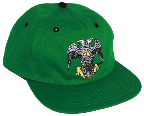 HATS / THEORIES / 33RD DEGREE - DARK KELLY GREEN