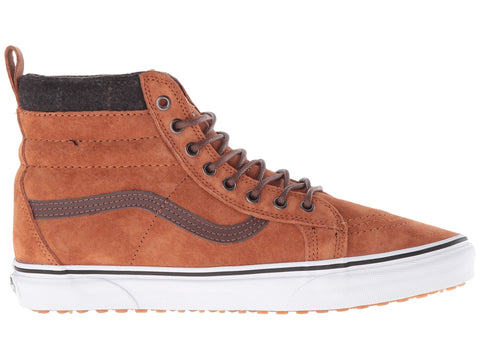 FOOTWEAR / VANS / SK8-HI MTE - GLAZED GINGER/PLAID