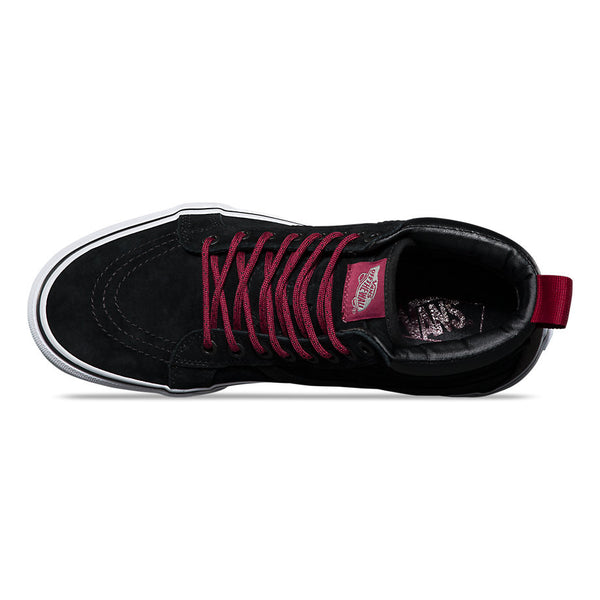 FOOTWEAR / VANS / SK8-HI MTE - BLACK/BEET RED