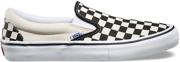 FOOTWEAR / VANS / SLIP-ON PRO - CHECKERBOARD BLACK/WHITE
